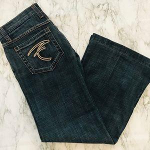 Frankie B. Ultra Low Rise Vintage Flare Jeans